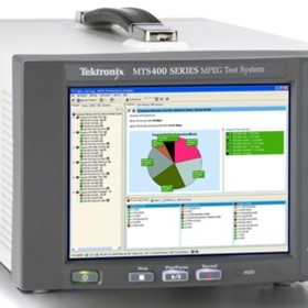 MPEG Analysers - Tektronix MTS400P Portable MPEG Test System