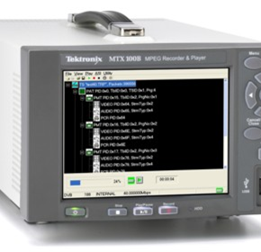 MPEG Generators - Tektronix MTX100B MPEG-2 Recorder and Player