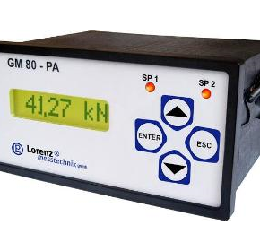 Data Acquisition Measuring Amplifier with Data Logger - By Lorenz Messtechnik