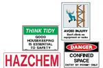 Safety Signs - Signet