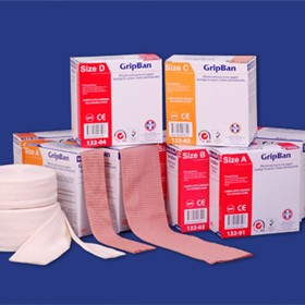 GripBan Elasticated Tubular Support Bandage (132 133 Series)