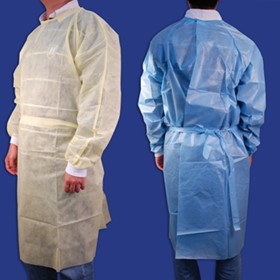CarePlus Polyethylene Laminated Isolation Gowns (106 Series)