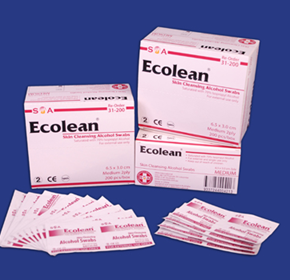 Ecolean Skin Cleansing Alcohol Swabs (31 Series)