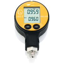 Digital Manometers for Plant and Machinery Manufacture - By KELLER LEO2