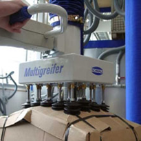 Jumbo Vacuum Lifter with Multi-gripper by Millsom Materials Handling