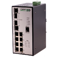 Industrial 8 Port Managed PoE Switch (CME-822)
