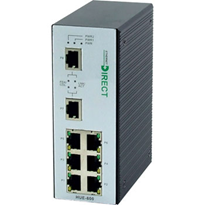 Non-Managed 8 Port Fast Ethernet Industrial Switch (HUE-800)