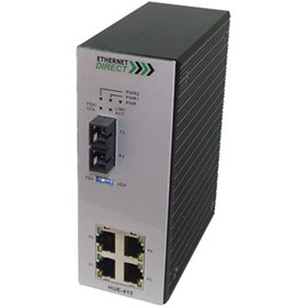 HUE-413 Unmanaged Industrial 5 Port Switch (HUE-413)