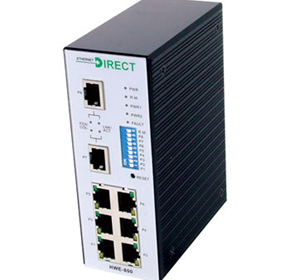 SNMP Managed Industrial 8 Port Switch (HME-800)