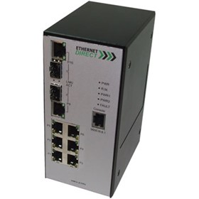 SNMP Managed Gigabit Industrial Switch (HMG-628G)