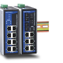 8 Port Power over Ethernet Switch from Moxa