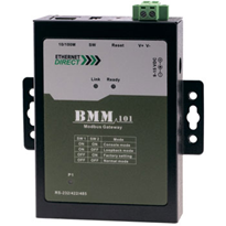 Single Port Managed Serial to Ethernet Modbus Gateway (BMM-101)