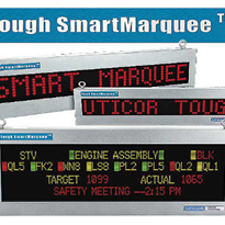 Industrial LED Display Message Sign - Uticor