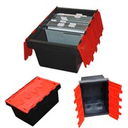 Security Crate - Supplied by R.J. Cox Engineering