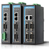 Serial Device Servers for Industrial Automation from Moxa