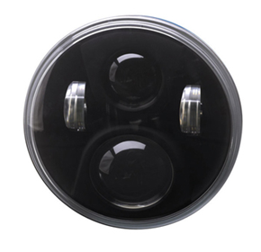 "Speaker A8700 7"" Round LED Hi/Lo Beam Headlamps"