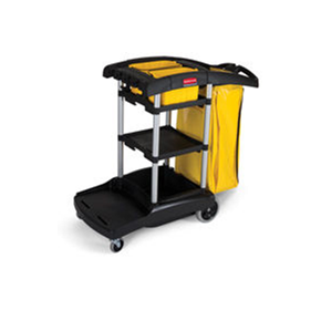 High Capacity 9T72 Janitor Cart - By Rubbermaid