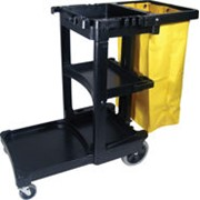 Janitor Cleaning Cart - Manufactured by Rubbermaid