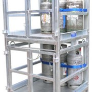 Gas Cylinder Storage Cage | GB-SC | R.J. Cox Engineering