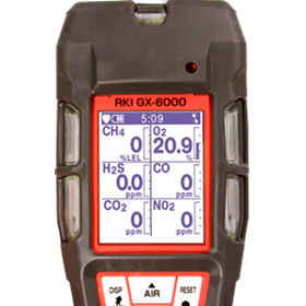 Handheld 1 - 6 Personal Gas Monitor