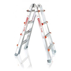 Aluminium Telescopic Access Ladder 1.02m - 3.10m | WAKU