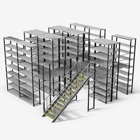 Ultima LT 2 Tier Shelving System