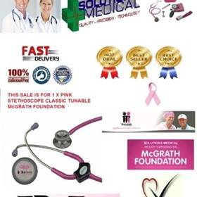 Stethoscope | Classic Tunable (McGrath Foundation) Pink