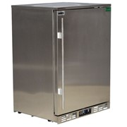 Rhino Stainless Steel 1 Door Solid Stainless Bar Fridge|SG1R-SD