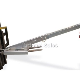 Tilt Forklift Jib Attachment 4700kg Budget In Stock