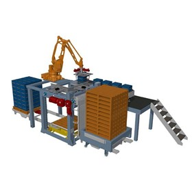 Robot Pick and Place Depalletiser