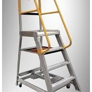 Aluminium Order Picker Platform Ladders | Series