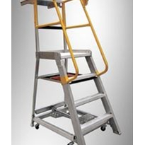 Aluminium Order Picking Ladders | Gorilla Series