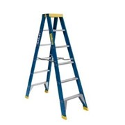 Fibreglass Double Sided Ladders (6-Step)