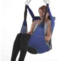 General Purpose Amputee Toileting Sling Mesh – Small