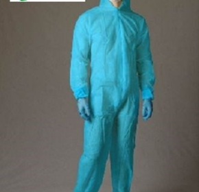 Protective Polypropylene Coveralls Disposable Overalls