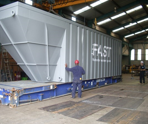 The FAST® System being delivered