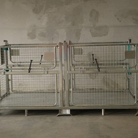 Jumbo Pallet Cage, Stillage - Big Box