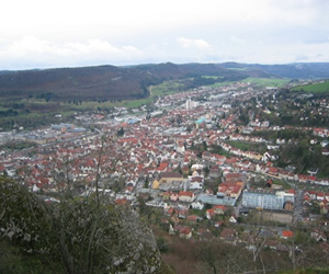 Albstadt, southwest Germany