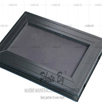 Black Stainless Steel 316 Security Door Mesh