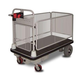 Powered platform trolley with removable cage sides - CAGEMATE1160