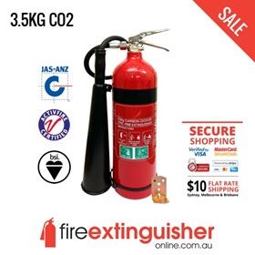 CO2 Fire Extinguisher - 3.5kg