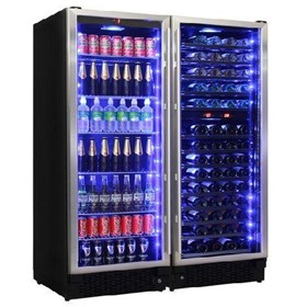 Schmick Matching Beer And Wine Fridge 3 Zone Combination