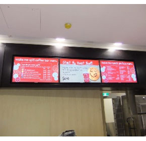 Digital Electronic Menu Boards | 115 Solutions
