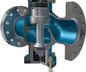 Hydrocore™ mine water pressure reducing valve