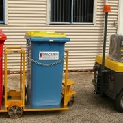 Tugger Train Wheelie Bin Movers