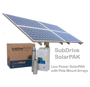 Solar Bore Pump | 8 Panel Pole Kit - 18SDSP