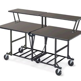 Two Tier Catering Table | Rolling