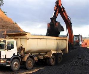 Trucks such as this one used for coal loading need high quality air springs to optimise safety and reliability
