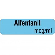 Drug Identification Labels Alfentanil