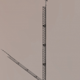 Australian Radio Towers | Single Section Free Standing Towers | FSLM75